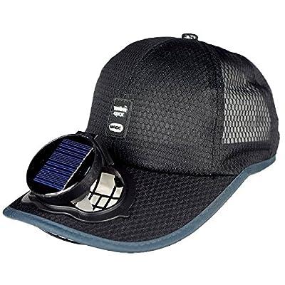 Ventilador Solar Gorra De