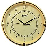 Ajanta fancy analog wall clock small size for home and office round ivory