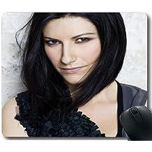 Laura Pausini J36E1S Gaming Mouse Pad/tapis de souris,Custom Mousepad