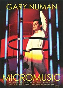 GARY NUMAN - MICROMUSIC - Live at Wembley 1981 [DVD]
