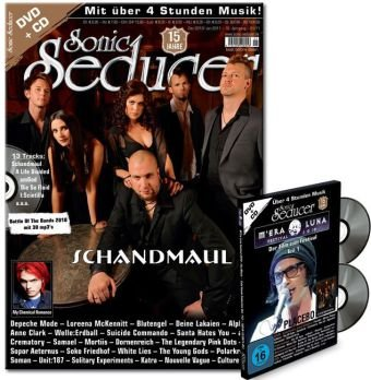 Sonic Seducer 12-10/01-11 mit M'Era Luna DVD + CD-Beilage; Bands: Schandmaul (Titel), My Chemical Romance, Blutengel, Depeche Mode, Loreena McKennitt uvm.