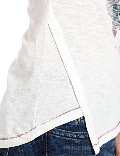 Timezone T-shirt - T-shirt - Femme Blanc - Weiß (Pure White 100)