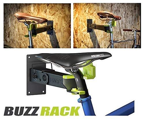 BUZZ RACK Design Radhalter Fahrradhalter E-Bike Wandhalter Halter Wand Fahrradhalterung für Wandmontage bis 25kg klappbar Bike Wall Mount