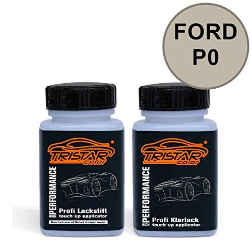 Preisvergleich Produktbild Lackstift Set FORD P0 PARKSIDE M. 2010 - Autolack & Klarlack - je 50 ml