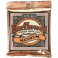 Ernie Ball Earthwood Medium Phosphor Bronze Acoustic String Set, .013 - .056