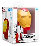Bigben Marvel Iron Man Ladegerät Akku Docking Lader Ladestation Docking Dock für Nintendo Wii Controller Wiimote