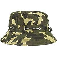 LMMVP Sombrero Sol de Pesca,Gorra de Camuflaje,Sombreros de Ocio al Aire Libre,Sombrero de Montañismo (C)