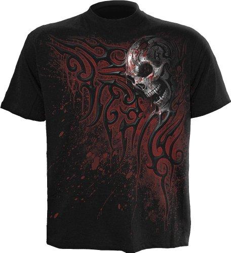 spiral-t-shirt-pour-homme-motif-death-blood-noir-moyen