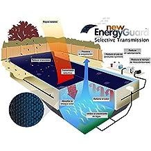 WikiCover Geobubble New Energy-Guard Cobertor Solar térmico para Piscina, Negro, 800x400x0.