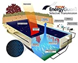 WikiCover Geobubble New Energy-Guard - Cobertor solar térmico para piscina, 500 micras, 600 x 300 cm, color negro