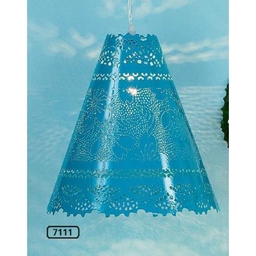 Lampe GRANADA Eisen blau B:30cm -