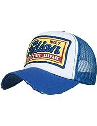 Amlaiworld Gorras Gorras de béisbol Verano Bordada de Unisexo Hombre Mujer  Visor Sombreros de Malla para Hombres 9651abfaabf