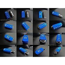 Protex - Funda de silicona para llavero inteligente de 3 - 4 botones para Mazda MX