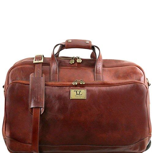 Tuscany Leather - Samoa - Sac à roulettes - Grand modèle - Marron
