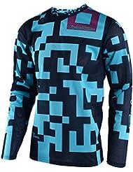 Camiseta De Mx Niño Troy Lee Designs 2018 Gp Air Maze Azuloscuro (M Niño , Azuloscuro)