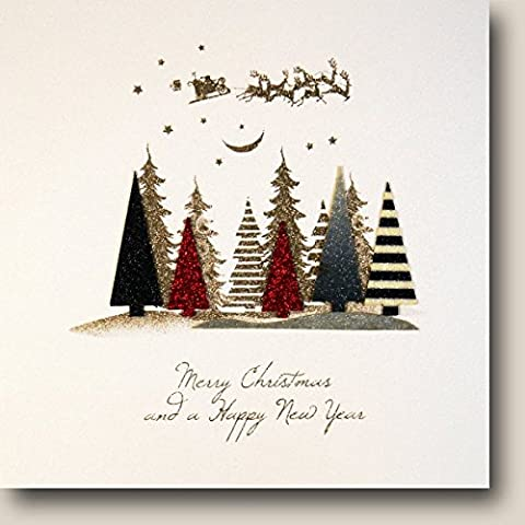 Five Dollar Shake carte de Noël, Merry Christmas and a Happy New Year | FC9
