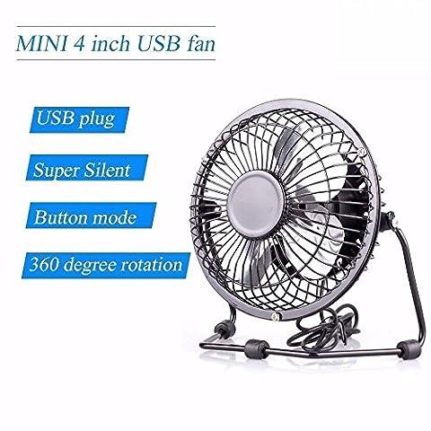 sanhuai--Porttil-Mini-Ventilador-de-mesa-USBpequeo-conectar-a-PCordenador-porttilpuerto-USB-para-coche-con-garanta-blanco
