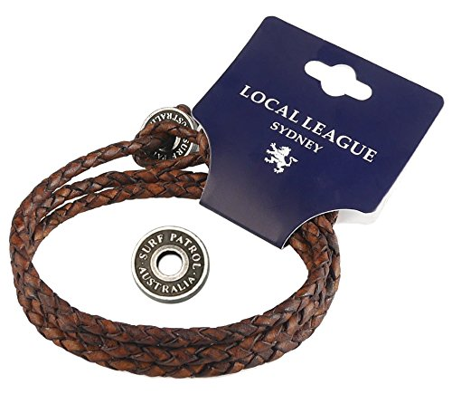 Local League Surf Patrol Australia - Totalmente Ajustable - Pulsera Cu