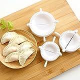 Dealglad® Moldes de prensa para empanadas, 3 unidades, 7 cm, ideal para cocina y pastelería