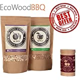 The BEST OAK Smoking Wood CHIPS BBQ - 2 Litres Zip PACK