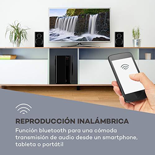 Auna Areal Touch Juego Altavoces 5.1 • Sonido Envolvente
