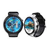 kaersishop Smart Watch Heart Rate Monitor Z10 New I4 AIR Android 5.1 OS Mobile Phone 2G +16 G / 2 MP Bluetooth WIFI GPS SmartWatch (Black)