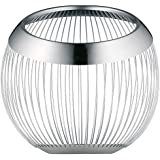 WMF Living Lounge - Frutero Cesta Mate, 19cm Ø-26cm altura, color plata