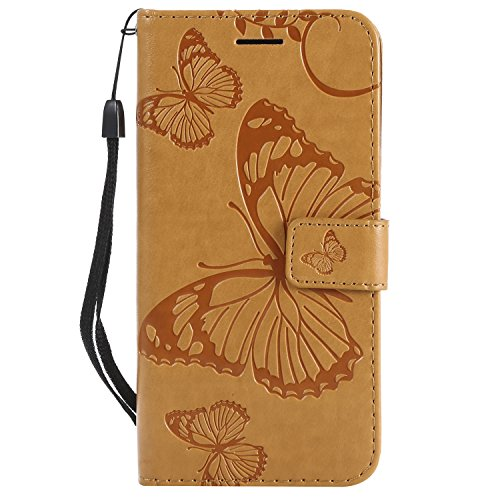 Price comparison product image For iPhone 7 Wallet Case ,  Premium Clear Design,  PU Leather TPU Shockproof,  Card Slots Magnetic Closure Stand Function Folio Flip Book Case Cover for iPhone 7