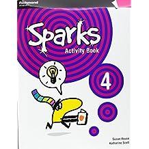 Sparks, 4 Educación PriMaría. Activity book - 9788466811378