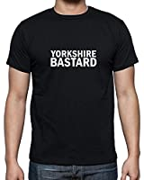 Yorkshire Bastard Men's Fashion Quality Heavyweight T-Shirt.