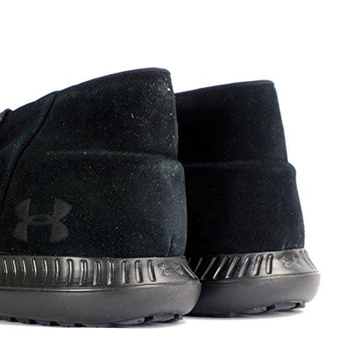 Under Armour , Baskets mode pour homme blanc black 002 41,5 EU black black black 001
