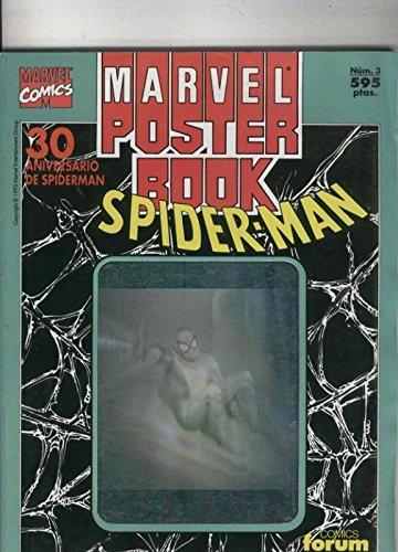 Marvel Poster Book: 30 aniversario de Spiderman, portada verde