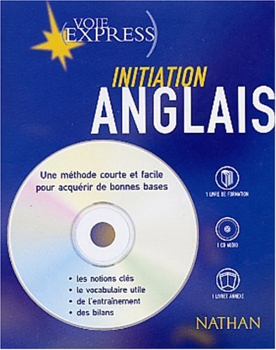 Initiation Anglais. Coffret livre + CD audio par David Booth