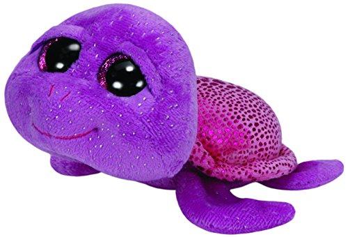 "Beanie Boo Turtle - Slowpoke - Purple - 15cm 6"""