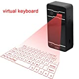 Bluetooth Cube Virtuelle Projektion, kabellose Tastatur für Handy PC Laptop Tablet