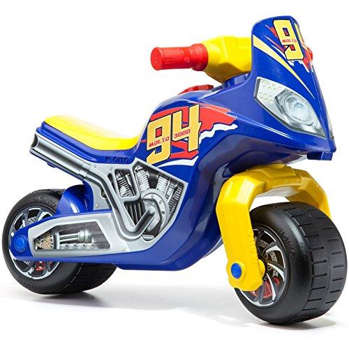 #0618 Kinder Rutschermotorrad blau robuste Ausführung, breite Reifen ab 12 Monaten • Motorrad Rutscher Roller Rutschfahrzeug Kinderbike Lauflernrad Laufrad
