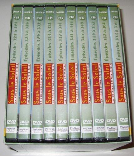 Coffret 10 DVD Sous le Soleil Intégrale saison 9