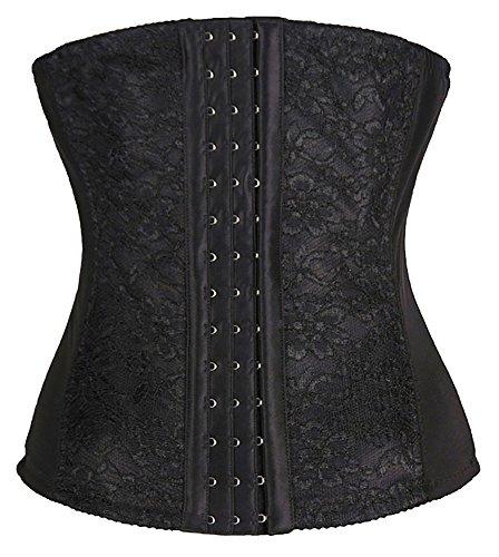 fedo-design-6-steel-boned-waist-cinchers-breathable-lace-slimmers-body-shaper