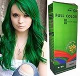 Permanente Haarfarbe Tönung Coloration Haar Cosplay Gothic Punk Grün 0/22 OHNE Parabene, Ammoniak, Silikone, Sulfate