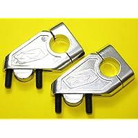Universale in alluminio manubrio Aumento–Offset Riser con 40mm Suzuki - Suzuki Manubrio Riser