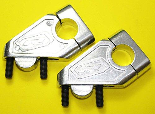 Universale in alluminio manubrio Aumento-Offset Riser con 40mm Suzuki - Suzuki Manubrio Riser