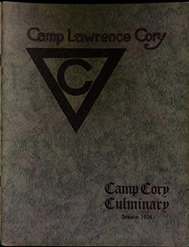 1926 YMCA Camp Cory Culminary (YMCA Camp Cory Culminaries Book 6) [Gratis Para Bajar A La Esquina]