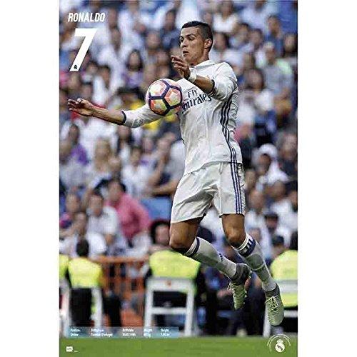 Grupo Erik Editores Poster Real Madrid 2016/2017 Ronaldo