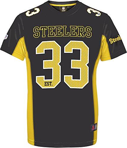 NFL Pittsburgh Steelers Camiseta Negro XXL