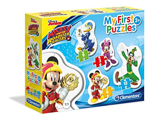 Clementoni 20807 Mickey and The Roadster Racers Puzzle, 30 Piezas