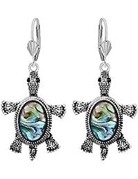 MIA Women Ethnic Vintage Bohemian Plated Drop Dangle Chandelier Earrings Jewelry Gift Set