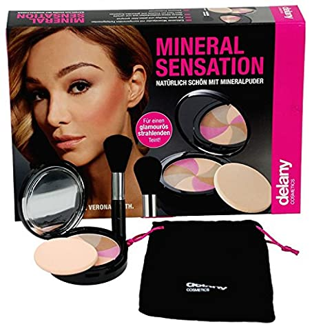 Delany Cosmetics® Make Up Face Minerals The Magic Beauty & Complexion Foundation & Concealer