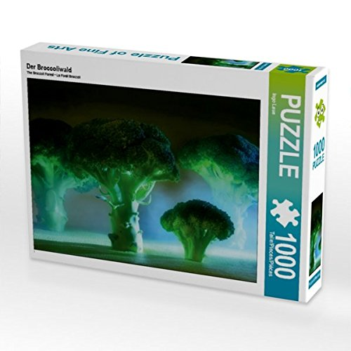 Der Broccoliwald 1000 Teile Puzzle quer (CALVENDO Lifestyle)