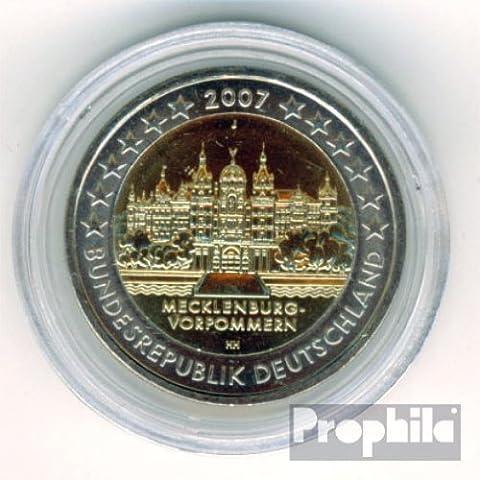 RFA (FR.Allemagne) jägernr: 526 2007 j Stgl./unzirkuliert Fleur de coin