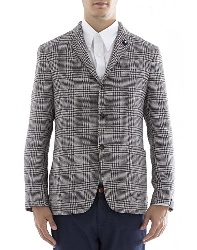 lardini-herren-ec9026-grau-baumwolle-blazer